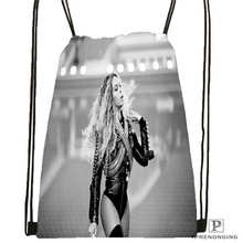 Custom HT_beyonce_jay_z_mona Drawstring Backpack Bag Cute Daypack Kids Satchel (Black Back) 31x40cm#2018612-01-32