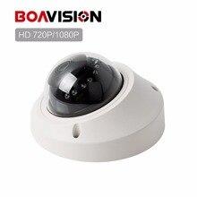 Onvif HD 1080 P IP Камера vandalproof 720 P реального времени мини купольная CCTV Камера 1MP/2MP ночь видения P2P облако Android вид