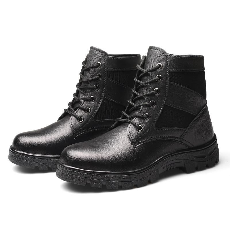 Más Prueba Terciopelo Acero Los Baotou Seguridad Calzado A Invierno De Del Hombres Calientes Zapatos Trabajo El Frío Protección vxYw8qn