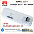 New Arrival Original Unlock LTE FDD 150Mbps HUAWEI E8278 4G Mobile WiFi Dongle And 4G USB WiFi Modem