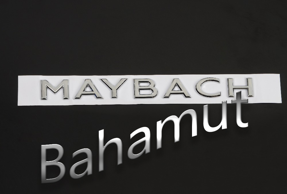 FREE SHIPMENT Zinc Alloy Car Styling Refitting Emblem Badge 3D Sticker for Benz S400 S600 MaybachFREE SHIPMENT Zinc Alloy Car Styling Refitting Emblem Badge 3D Sticker for Benz S400 S600 Maybach