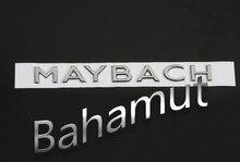 شحن مجاني سبائك الزنك تصفيف السيارة تجديد شعار شارة ثلاثية الأبعاد ملصق لبنز S400 S600 Maybach