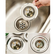 LINSBAYWU Stainless Steel Bathtub Hair Catcher Stopper Shower Drain Hole Filter Trap Metal Sink Strainer New