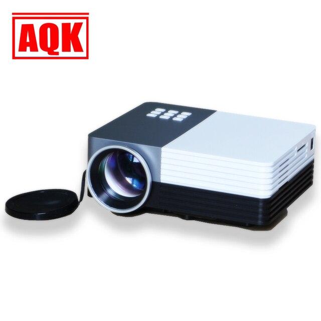 Promtion! 1080 Золотой Мини Мультимедиа 3d LED Проектор proyector full hd projetor для домашнего кинотеатра GM50/tv box/ipad/vga/hdmi/av