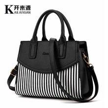 9127c3b0cfe1 100% женские сумки из натуральной кожи, 2019 новые женские модные сумки,  сумки на плечо в западном стиле, воздушные сумки