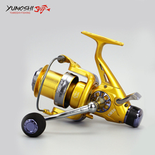 Ultra-hard Fishing Reel 10+1BB High Speed 5.2:1 EVA Reel Handle Fishing Reel Metal Rocker Arm Without Clearance Bearings Reel