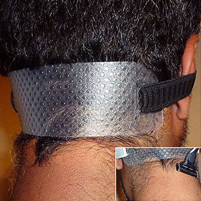 Neck Hair Cut Guide Clean Curved Neck Hairline