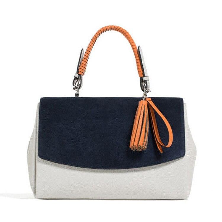 ФОТО new fashion women handbags leather fringed Shoulder Bag Handbag across the leisure bags