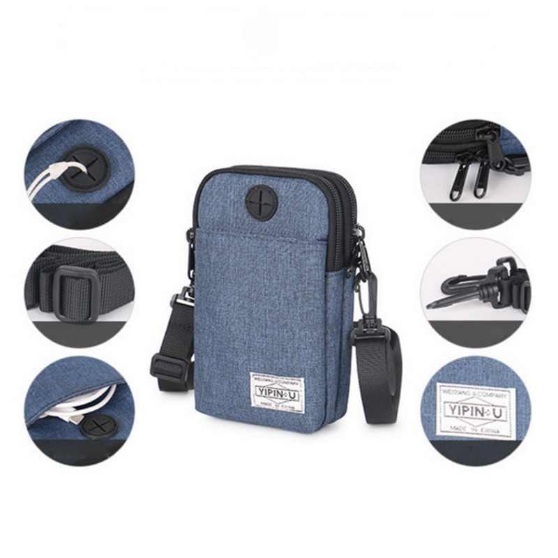 WENYUJH, водонепроницаемая мужская сумка через плечо, сумки через плечо, мини-рюкзак с Usb, Детский кошелек, Мужская маленькая дорожная сумка