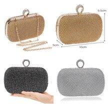 Fashion Rhinestones Lady's Handbag