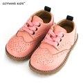 CCTWINS ДЕТИ 2017 весна осень ребенок розовый плоским натуральная кожа малыша обувной моды девочка марка loafer оксфорд белый G9771