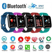 Ravi D13 Montre intelligente fréquence cardiaque tensiomètre sport course vélo Tracker Bluetooth Montre connecter Android Iphone(China)