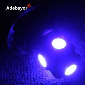 Image 4 - 80 X DC 24V T10 194 168 5 SMD 5050 LED voiture indicateur led lumière intérieur ampoules instrument lumière cale lampe 24V