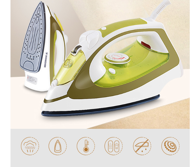 Electric iron 5 gear adjustment ironing Clothes care Nylon/fiber/wool/fabric/linen/silk 250ML Personal Care Tool title=