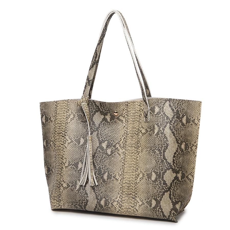 Women\'S Soft Leather Handbag Women Shoulder Bag Luxury Tassel Bucket Bag Women\'S Handbag