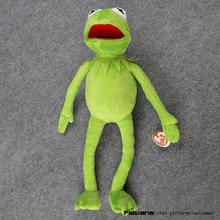 "Hot Sale 14"" 40cm Kermit Plush Toys Sesame Street Doll Stuffed Animal Kermit Toy Plush Frog Doll Holiday Gift"