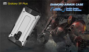 Rugged Armor Case For Samsung Phones Hard PC Shockproof Cover 4