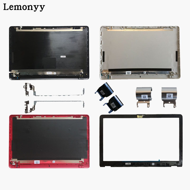 Tampa Traseira Do LCD/LCD painel frontal/Dobradiças/Dobradiças da tampa para HP 15-BS 15T-BS 15-BW 15-BS070WM 15Q-BU 924899 -001 AP204000260YSY4 7J17B0