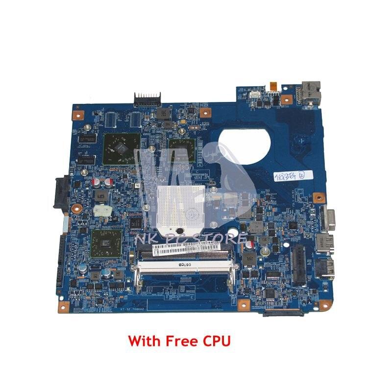 NOKOTION MBN9J01001 MB.N9J01.001 For Acer aspire 4551 4551G D640 Laptop Motherboard 48.4HD01.031 HD5470 DDR3 Free CPU mbn9j01001 mb n9j01 001 for acer aspire 4551 4551g d640 laptop motherboard 48 4hd01 031 ati hd5470 socket s1 ddr3
