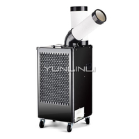 2700W Industrial Air Cooler Mobile Air Conditioner Fan Workshop Refrigeration High power Air Conditioner BGP1801 27