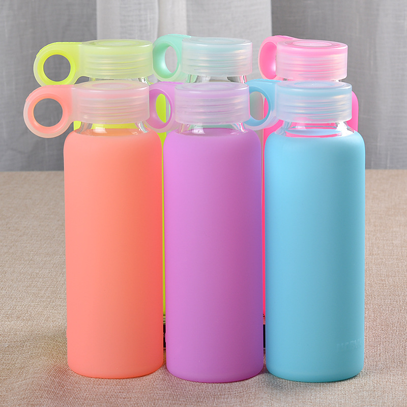 My Water Bottle 300ml New Fashion Color Silica Gel Set of Jelly <font><b>Cup</b></font> Creative Prevent <font><b>The</b></font> <font><b>Broken</b></font> Silica Glass Sport Bootle