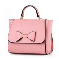 MONNET CAUTHY 2017 Fashion Female Bags Candy Color Pink Beige Lavender Sky Blue Green Totes Sweet