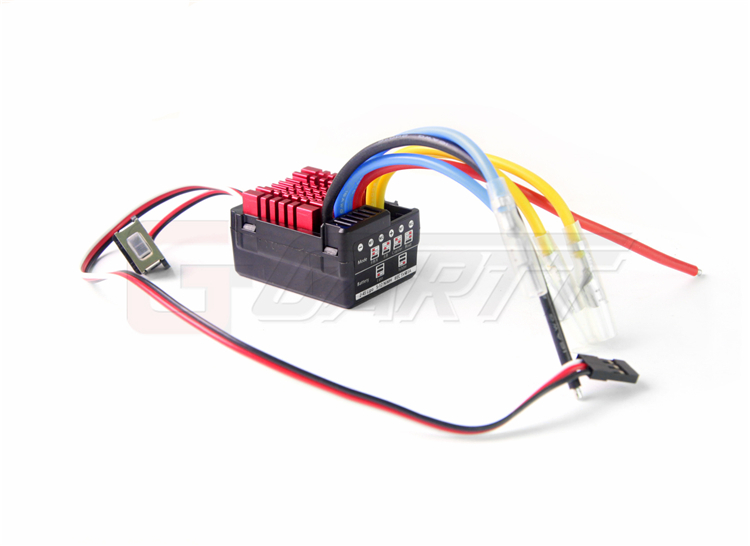 ФОТО Hobbywing QuicRun WP-860 Dual Brushed Waterproof ESC Speed Controller For 1/8 RC Car Free shipping