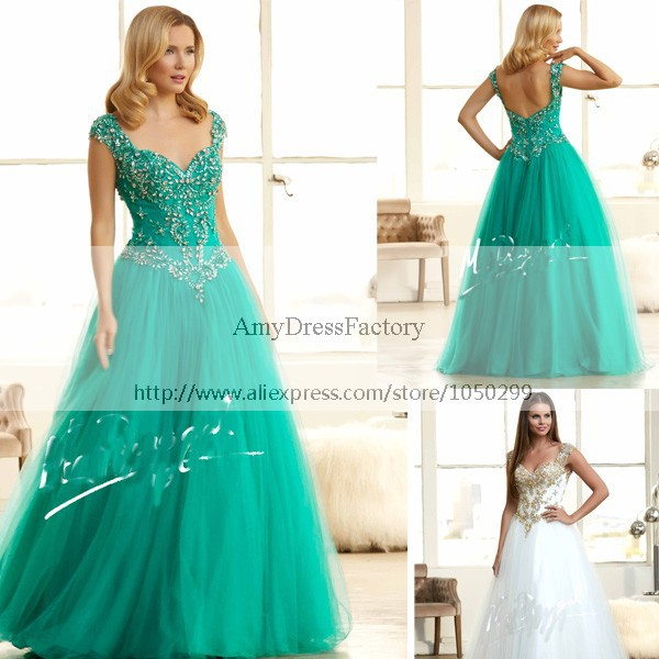 Stunning Beautiful Vestidos De Festa Vestido Longo Jade Green Top ...