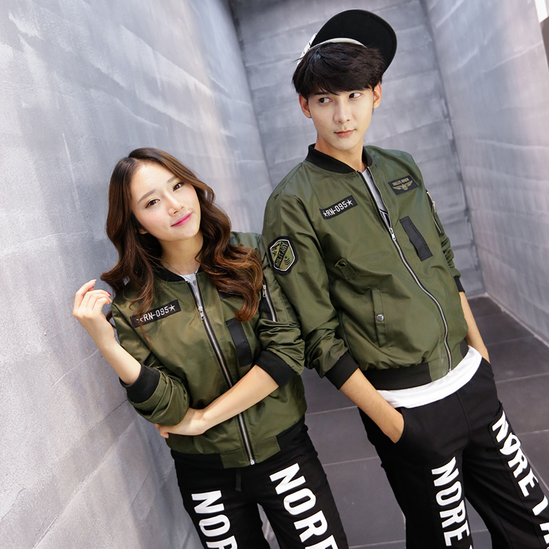 Aliexpress.com : Buy Harajuku style couple men/women bomber jacket ...