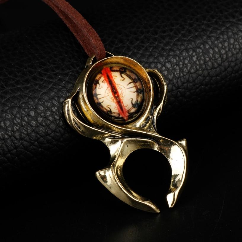 Wholesale Diablo 3 Hradi Keeper Guardian Ryans Pendant Necklace Griftah Amulet Sweat Rope Chain Necklace