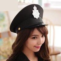 Армия шляпа Женщины Косплей Шляпы Военная форма полиция колпачок для шоу Хэллоуин Рождество подарок фестиваль Валентина Новый год и шарф