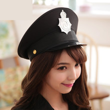 army hat women cosplay hats military uniform police cap for show Halloween Christmas gift festival Valentine New Year