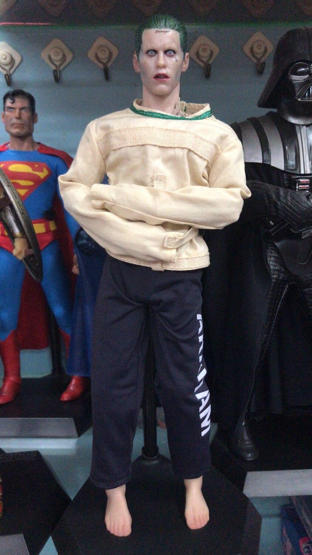 Suicide Squad Figure The Joker Crazy Toys 1/6 Scale PVC Batman Arkham Asylum Joker Figure Action Collection Model Toys цена и фото