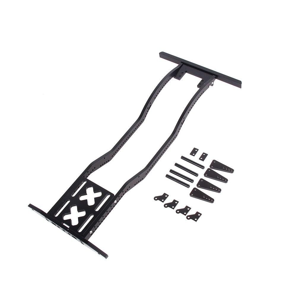 Di alta Qualità del Metallo RC Auto Defender Frame Set per 1:10 Assiale SCX10 D90 JK Modello Defender Telaio In Metallo Telaio Set