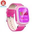 Shaolin crianças gps smart watch relógio de pulso dispositivo de chamada sos localização rastreador para Kid Safe Anti Perdido Monitor Do Bebê Presente Q80 PK Q50 Q60