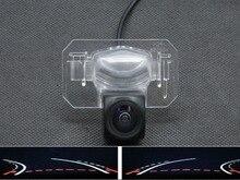 цена на Trajectory Tracks 1080P Fisheye Lens Car Parking Rear view Camera for Honda CIVIC CIIMO 2012 2013 Accord CITY 2008 2009 2010