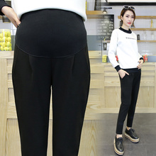 df1247670ee61c Pengpious 2019 new spring pregnant women pants high waist maternity  abdominal slacks haroun pants office lady