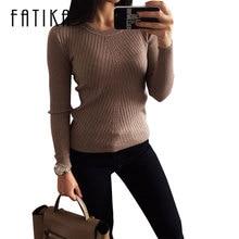 Женский свитер FATIKA
