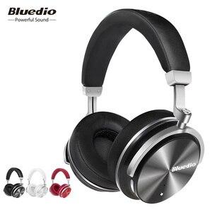 Image 2 - מקורי Bluedio T4 פעיל רעש ביטול אלחוטי bluetooth אוזניות wired אוזניות עם מיקרופון עבור טלפון xiaomi samsung