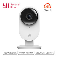 Yi Home 2 Camera 1080P FHD IP Camera Night Vision Security Mini Cam Camera Owl Wireless CCTV WIFI International Version CMOS(China)