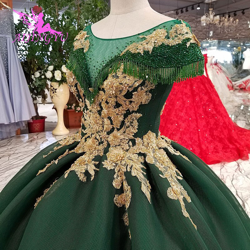 Image 3 - AIJINGYU Lace Wedding Dresses Moroccan Gowns Korean Royal Queen With Sleeves New Gown Indian Wedding DressWedding Dresses   -