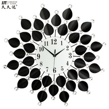 JJT home furnishing wall clocks iron diamond European popular clock for living room 60*60CM JJT-MM1204-60CM