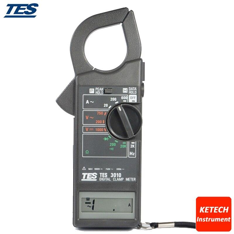 TES3010 ACA 20A 200A 600A Power Prof. Clamp Meter полуприцеп маз 975800 3010 2012 г в