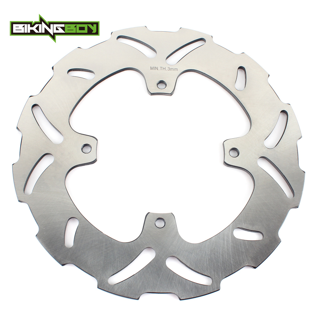 BIKINGBOY Front Brake Disc Rotor for KTM 85 XC 07-09 105 XC 08-09 105 SX 03-08 85 SX 17/14 SW 03-16 85 SX 19/16 Big Wheel 03-12 bikingboy front brake disc rotor for hyosung gt 125 gt125 r naked 01 02 03 04 05 06 07 08 09 10 11 gt 250 gt250 comet 2003 2008