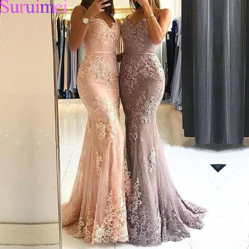 Glamorous-Sweetheart-Spaghetti-Straps-Mermaid-Evening-Dresses-Lace-Appliques-Prom-Party-Dresses-Formal-Dresses-Vestidos-De