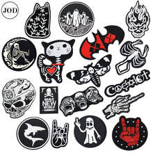 US $0.61 55% OFF|Biker Patch on Clothes Sticker Skull Embroidery Iron on Patches for Clothing Badge Hell Ghost Stripe Sew on Cloth Bag Repair-in Patches from Home & Garden on Aliexpress.com | Alibaba Group
