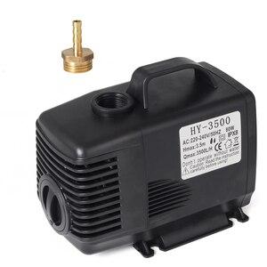 Image 5 - 80w 3.5m 물 펌프 조각 기계 cnc 라우터에 대 한 냉각 2.2kw 스핀들 모터 및 1.5kw 스핀들 모터