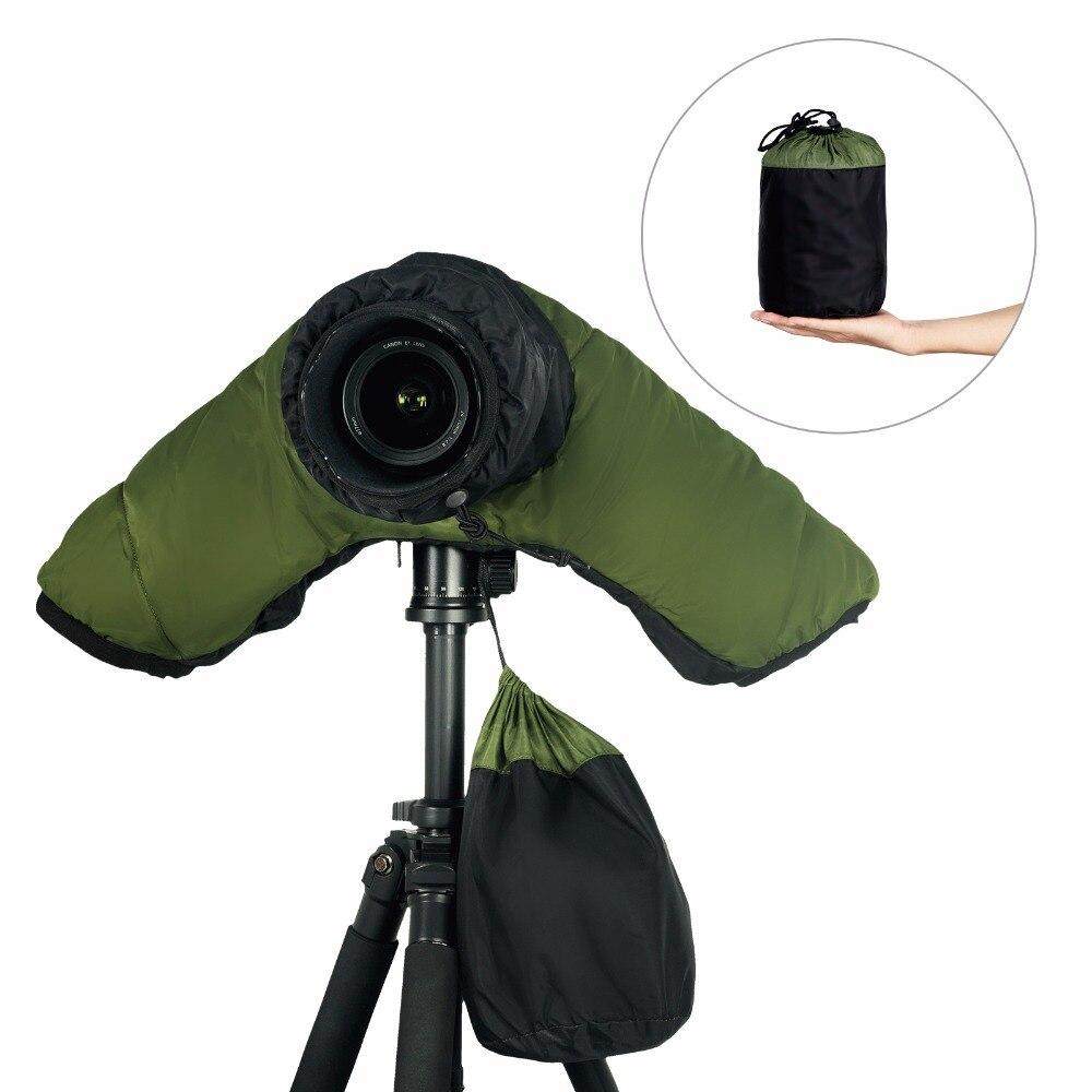 Rain Cover Camera Protector Rainproof for Canon Nikon and Other Digital SLR Cameras