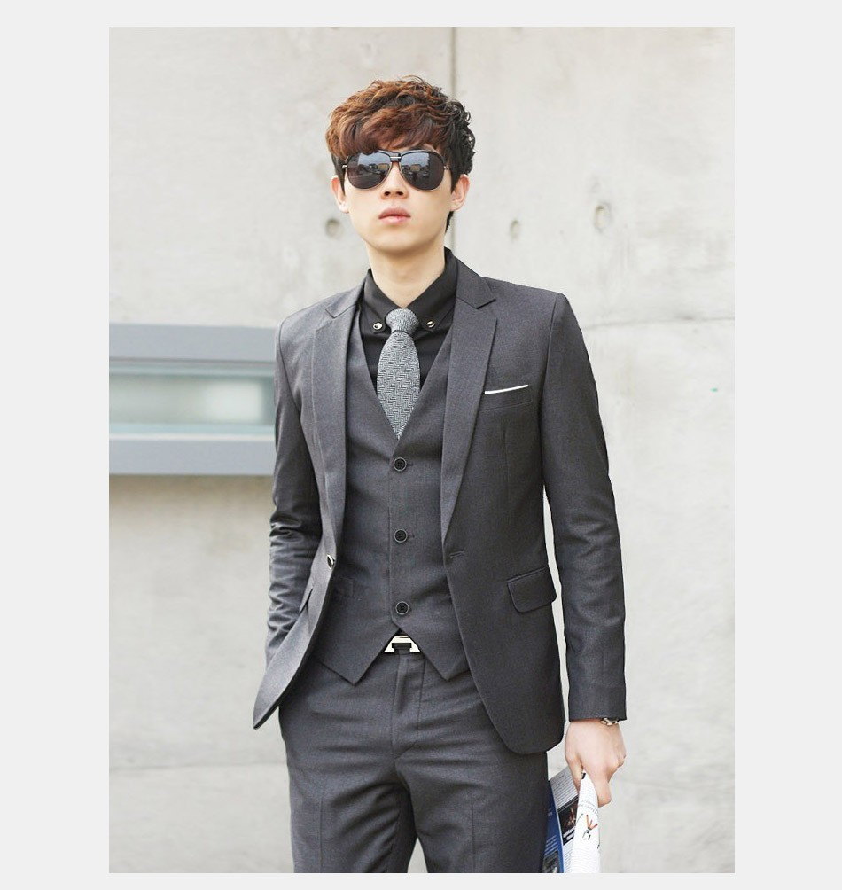Formal Black Luxury Tie 1