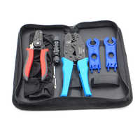 1set X LS2546B MC4 Crimping tool kits for MC4 connector 2.5 4 6.0mm2 solar cable Crimp tools DIY power system connect pliers